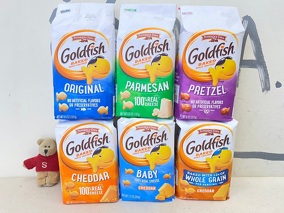 【Sunny Buy】Goldfish Baked Snack Crackers 6.6oz (6 Flavors)