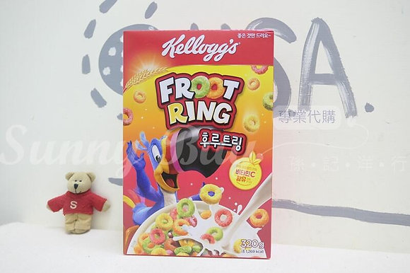 【Sunny Buy】Kellogg's Froot Rings Cereal 320g (#18358)