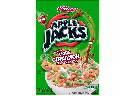 【Sunny Buy】Kellogg's Apple Jacks Breakfast Cereal 10.1oz