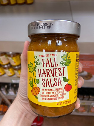 【Sunny Buy】Trader Joe's Fall Harvest Salsa 12oz