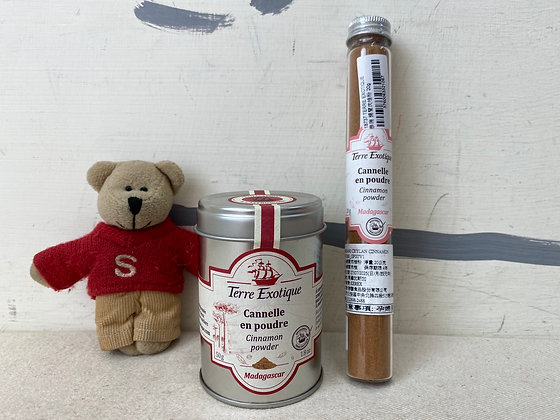 【Sunny Buy】 TERRE Exotique Ground Cinnamon Powder / Tin Can & Tube Size