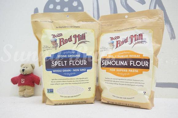 【Sunny Buy】Bob's Red Mill Spelt Flour 22oz / Semolina Flour 24oz