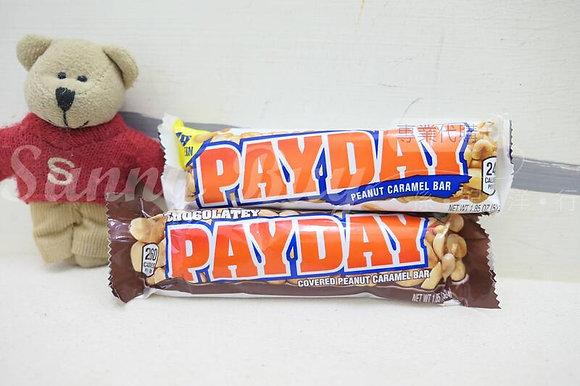 【Sunny Buy】PayDay Peanut Caramel Bar / Chocolatey 1.85oz