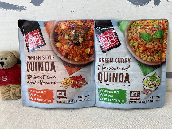 【Sunny Buy】Kitchen 88 Spanish Style / Green Curry Quinoa 5.3oz