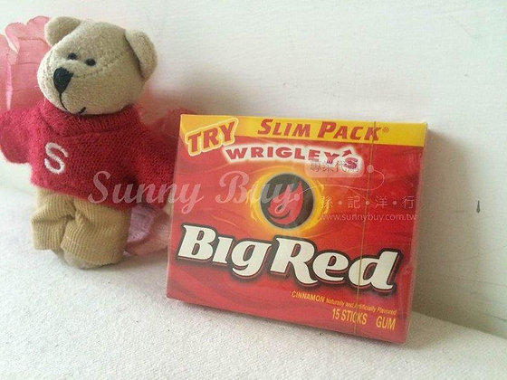 【Sunny Buy】Wrigley's Big Red Cinnamon Gum 15 Sticks (#0699)