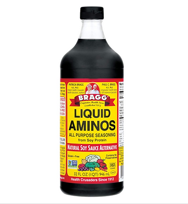 【Sunny Buy】Bragg Liquid Aminos All Purpose Seasoning Soy Sauce Alternative 32oz