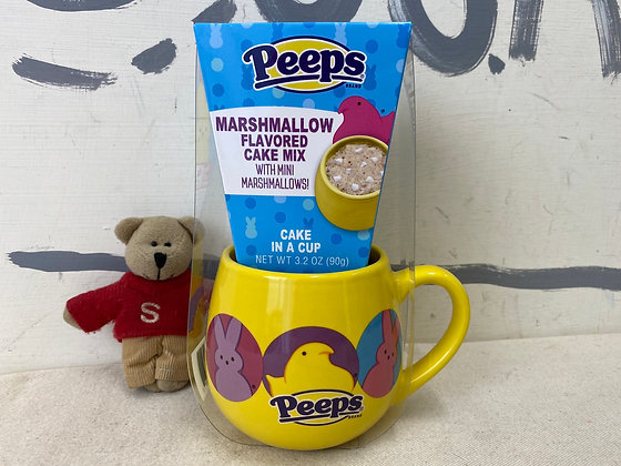 【Sunny Buy】Peeps Marshmallow flavored Cake Mix in Cup 3.2oz (#19577)