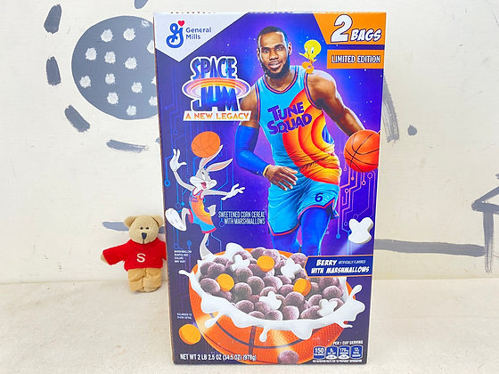 【Sunny Buy】Space Jam Cereal Berry with Marshmallows 2 Bags / 2lb 2.5oz