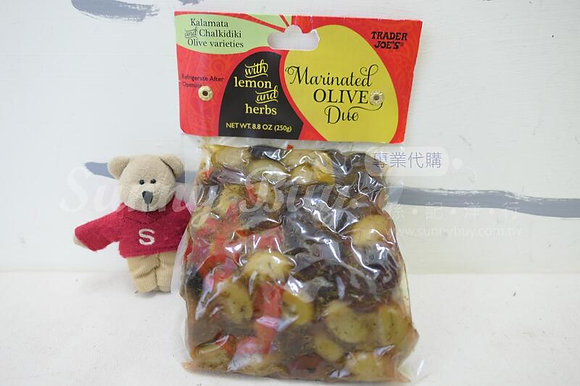 【Sunny Buy】Trader Joe's Marinated Olive Duo with Lemon & Herbs 8.8oz (#16087)