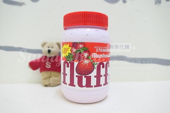 【Sunny Buy】Fluff Marshmallow Spread and Crème / Strawberry 7.5oz (#10107)