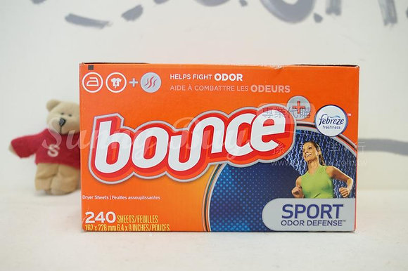 【Sunny Buy】Bounce Fabric Softener Dryer Sheets Pure Sport 240 Sheets (#13588)