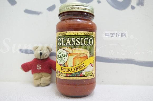【Sunny Buy】 Classico Tomato Sauce / Four Cheese 24oz (#18437)