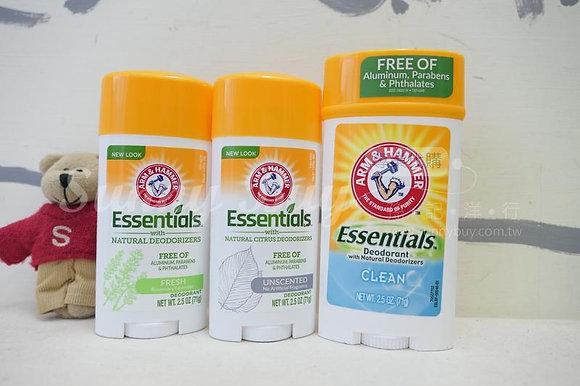 【Sunny Buy】Arm & Hammer Essentials Deodorant / Unisex 2.5oz / 71g (3 Kinds)
