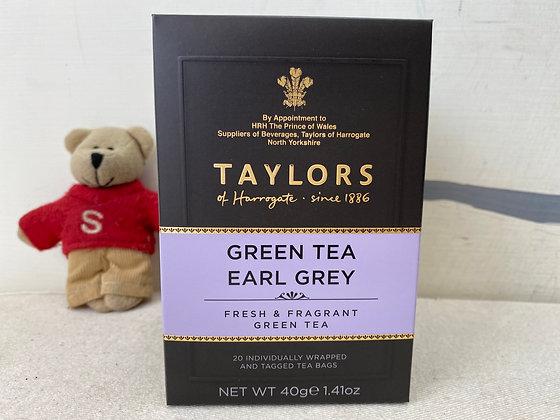 【Sunny Buy】 Taylors  Green Tea Earl grey 1.41oz (#12695)