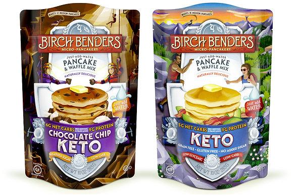 【Sunny Buy】Birch Benders Keto Pancake & Waffle Mix 10oz(2 Flavors)(#16431/16450)