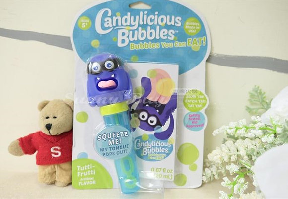 【Sunny Buy】Candylicious Edible Bubbles Tutti-Frutti Flavor 0.67oz (#7906)