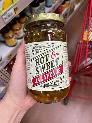 【Sunny Buy】Trader Joe's Hot & Sweet Jalapenos 12oz (#17533)
