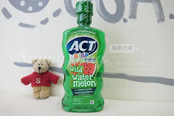 【Sunny Buy】ACT Kids Anticavity Fluoride Rinse Wild Watermelon 16.9oz (#16110)