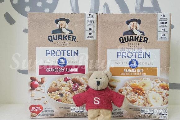 【Sunny Buy 】Quaker Oatmeal PROTEIN Cranberry Almond/Banana Nut
