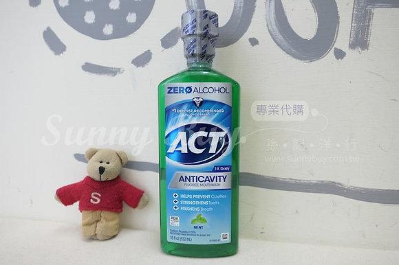 【Sunny Buy】ACT Anticavity Fluoride Mouthwash Mint Alcohol Free 18oz (#16328)