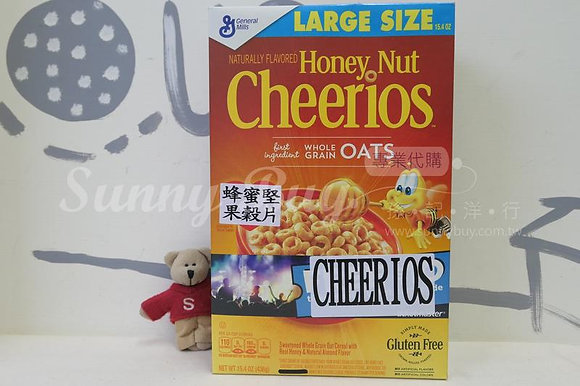 【Sunny Buy】Cheerios Honey Nut Cereal Large Size 15.4oz (#12669)