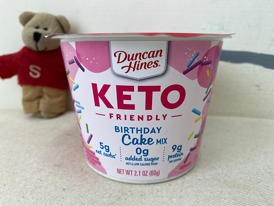 【Sunny Buy】Duncan Hines Keto Birthday Cake Mix 2.1oz (#19851)