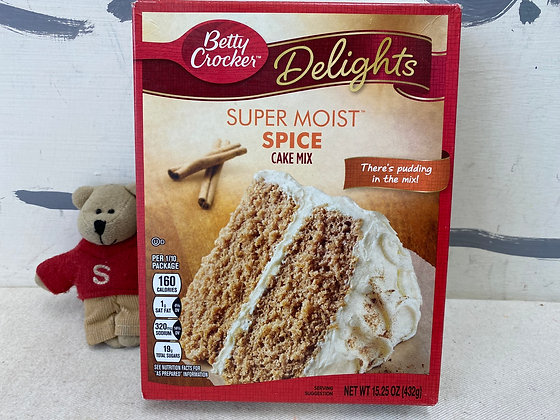 【Sunny Buy】Betty Crocker Spice Cake Mix 15.25oz (#16606)