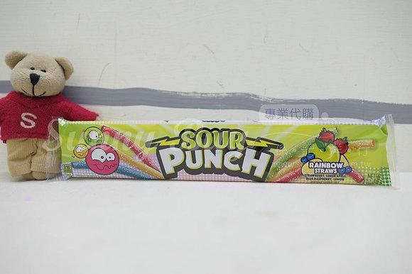 【Sunny Buy】Sour Punch Rainbow Straws 2oz