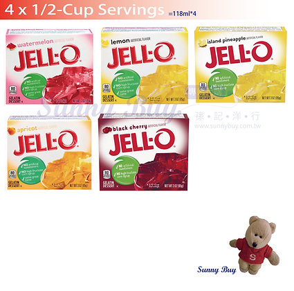【Sunny Buy】Jell-O Instant Gelatin 4 Servings