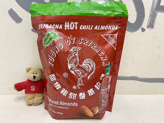 【Sunny Buy】Sriracha Hot Sauce Almonds 24oz (#20494)