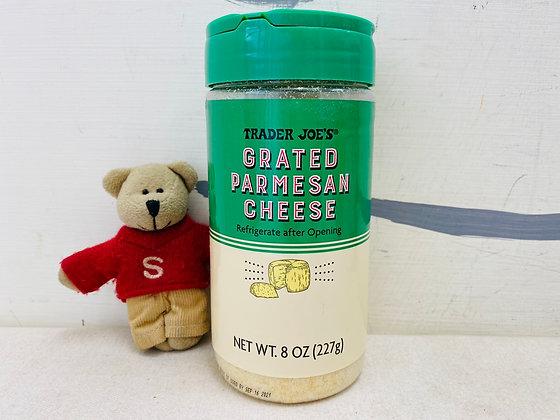 【Sunny Buy】 Trader Joe's Grated Parmesan Cheese 8oz