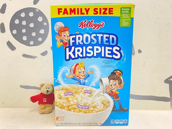 【Sunny Buy】Kellogg's Frosted Rice Krispies / Family Size 20.2oz (#20473)