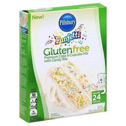 【Sunny Buy】Pillsbury Gluten Free Funfetti Cake Mix 17oz (#16397)