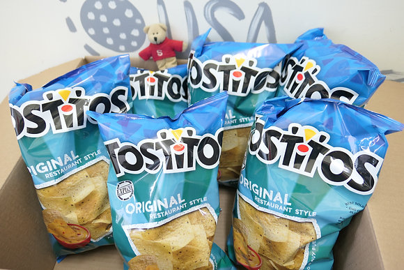 【Sunny Buy】Tostitos Original Restaurant Corn Chips 6-pack Box 60oz Free Shipping
