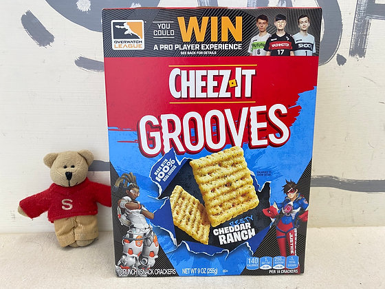 【Sunny Buy】CHEEZ-IT Grooves / Cheddar Ranch 9oz (#13500)