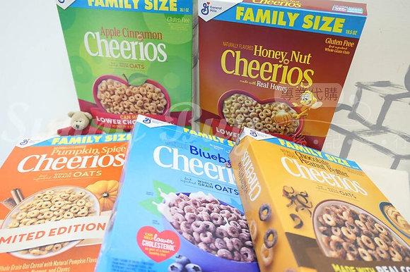 【Sunny Buy】Cheerios Apple Cinnamon Cereal Family Size 4 Flavors 20.1oz (#16178)