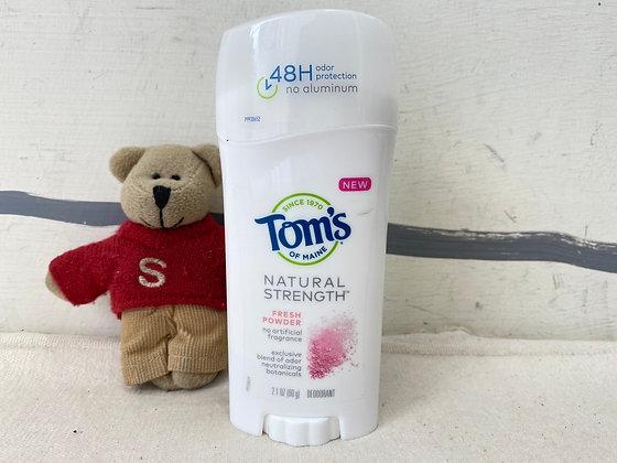 【Sunny Buy】 Tom's of Maine Natural Strength Fresh Powder Deodorant 2.1oz(#18111)