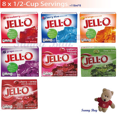 【Sunny Buy】Jell-O Instant Gelatin 8 Servings