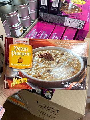【Sunny Buy】Trader Joe's Pecan Pumpkin Instant Oatmeal 12.6oz (#17735)