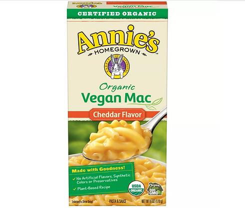 【Sunny Buy】Annie's Organic Vegan Mac Cheddar Flavor 6oz (#16398)