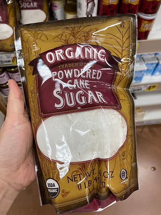 【Sunny Buy】 Trader Joe's Trader Joe's Organic Powdered Cane Sugar 1lb (#16268)