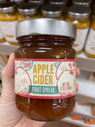 【Sunny Buy】Trader Joe's Apple Cider Fruit Spread 12oz (#17756)
