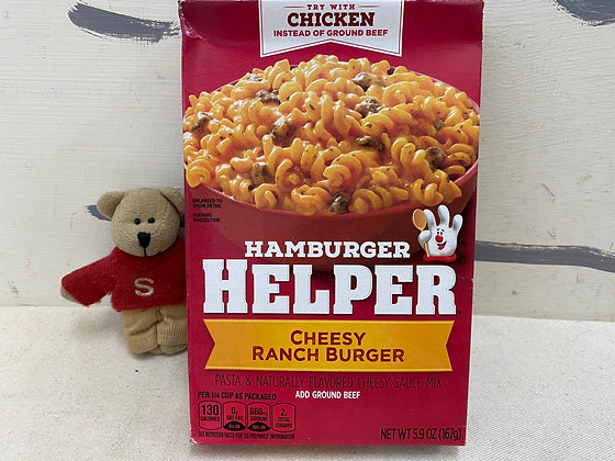 【Sunny Buy】Hamburger Helper / Cheesy Rach Burger 5.9oz (#20153)
