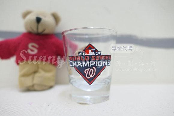 【Sunny Buy】MLB Washington Nationals 2019 World Series Champions Shot Glass 2oz