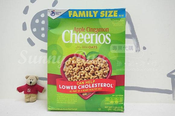 【Sunny Buy】Cheerios Apple Cinnamon Cereal Family Size 20.1oz (#16178)