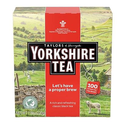 【Sunny Buy】Taylors of Harrogate Yorkshire Black Tea, 100 Tea Bags (#19449)