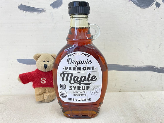 【Sunny Buy】Trader Joe's Organic Vermont Maple Syrup 8oz (#16288)