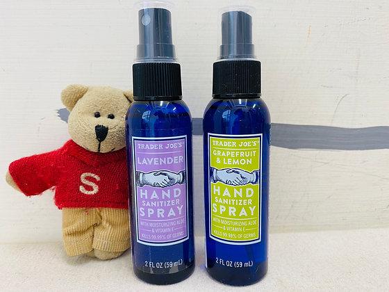 【Sunny Buy】Trader Joe's Grapefruit & Lemon/Lavender Hand Sanitizer Spray 2oz