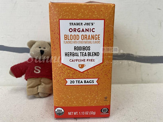 【Sunny Buy】 Trader Joe's Organic Blood Orange Rooibos Herbal Tea 1.13oz (#17970)