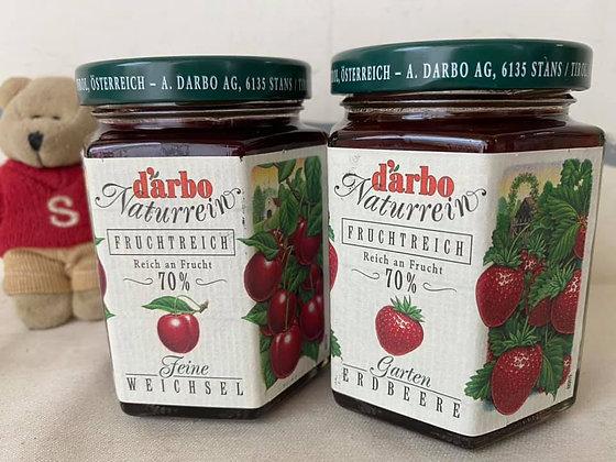 【Sunny Buy】D'arbo 70% Cherry Spread or Garden Strawberry Spread 200g